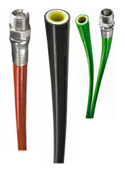 1/2-in ID bonded thermoplastic hose for jetting applications
